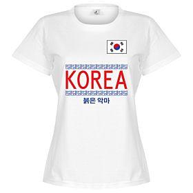Korea Team Womens Tee - White