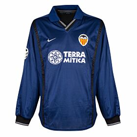 Nike Valencia Away C/L L/S Player Issue Jersey L.Milla No.21 - NEW Condition - Size Large