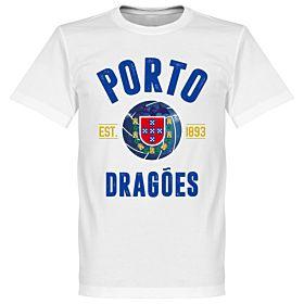 Porto Established Tee - White