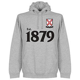 Fulham Established Hoodie - Grey