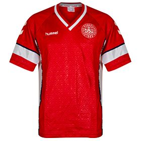 Hummel Denmark 1990-1992 Home Jersey - USED Great Condition - Size XL