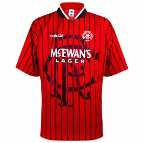 adidas Rangers 1994-1995 Away Shirt - USED Condition (Great) - Size XL