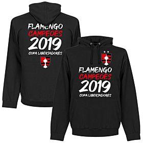 Flamengo 2019 Copa Libertadores Champions Hoodie - Black