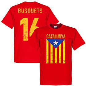 Busquets Vintage Catalunya Tee - Red