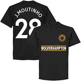 Wolverhampton J Moutinho 28 Team Tee - Black