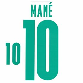 Mane 10 (Official Printing) - 20-21 Senegal Home