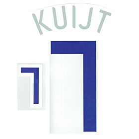Kuijt 7 06-07 Holland Away Official Name and Number