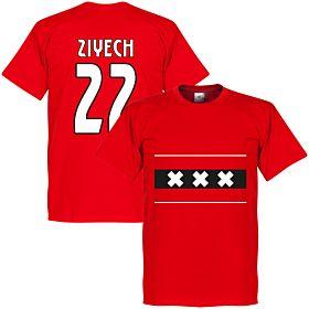 Amsterdam Team Ziyech 22 Tee - Red