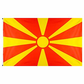Macedonia Large National Flag (90x150cm approx)