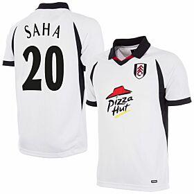 01-02 Fulham Home Retro Shirt + Saha 20 (Retro Flex Printing)