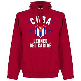 Cuba Established Hoodie - Red