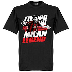Inzaghi Legend Tee - Black