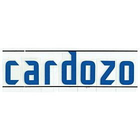 Cardozo (Name Only) - 06-07 Paraguay Home Official Name Transfer
