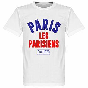 Paris Established Tee - White