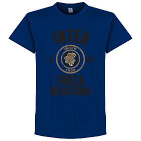 Inter Established Tee - Marine Blue