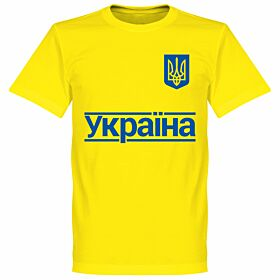 Ukraine 2020 Team T-Shirt - Yellow