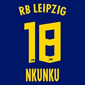 Nkunku 18 (Official Printing) - 20-21 RB Leipzig Away