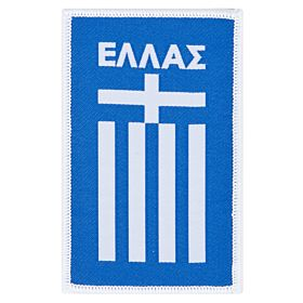 Greece Embroidery Patch 9cm x 5.5cm