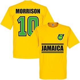 Jamaica Morrison 10 Team Tee - Yellow