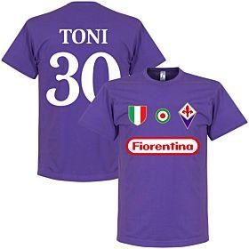 Fiorentina Toni 30 Team Tee - Purple
