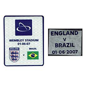 England v Brazil 01-06-071st Match at New WembleyMatchday Transfer Set