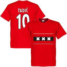 Amsterdam Team Tadic 10 Tee - Red