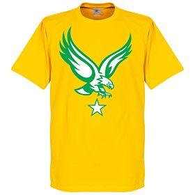 Togo Eagle Tee - Yellow
