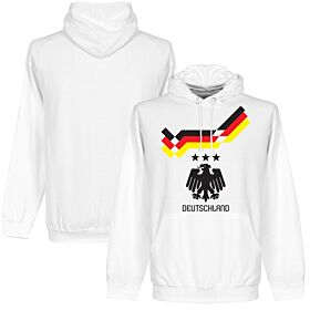 Germany 1990 Retro Hoodie - White