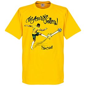 Tim Cahill The Aussie Volley Tee - Yellow