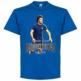 Micky Droy Hardman Tee - Blue