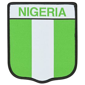 Nigeria Embroidery Patch 9cm x 7.5cm