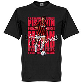 Franco Baresi Legend Tee - Black