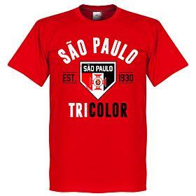 Sao Paulo Established Tee - Red