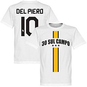 30 Sul Campo Del Piero Tee - White