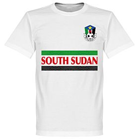 South Sudan Team Tee - White