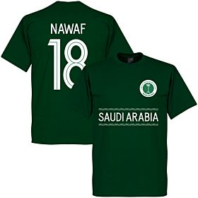 Saudi Arabia Nawaf 18 Team Tee - Green