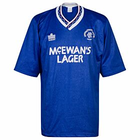 Admiral Rangers 1990-1992 Home Shirt - USED Condition (Good) - Size L