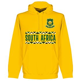 South Africa Rugby Team Hoodie - Gold