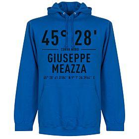 Inter Giuseppe Meazza Coordinates Hoodie - Royal