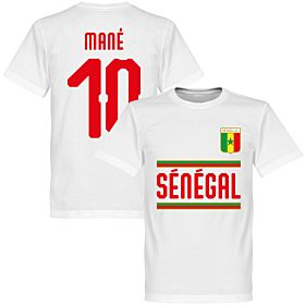 Senegal Mané 10 Team Tee - White