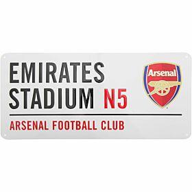 Arsenal Street Sign