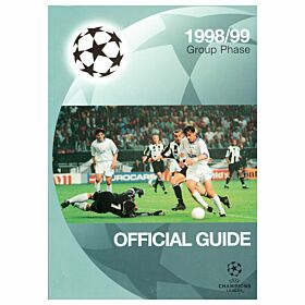 1998 Champions League Group Phase Official Guide Book