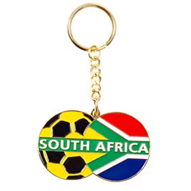 South Africa Enamel Keyring
