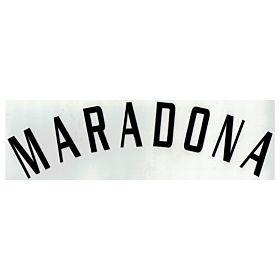 Maradona (Name Only) - 04-05 Argentina Home Official Name Transfer