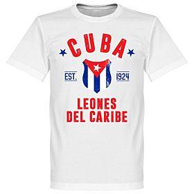 Cuba Established Tee - White