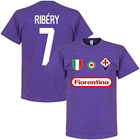 Fiorentina Ribery 7 Team Tee - Purple