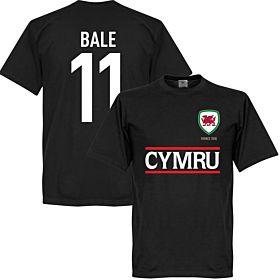 Cymru Bale Team Tee - Black