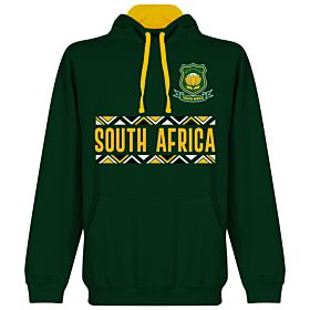 South Africa Rugby Team Hoodie - Forest/Gold