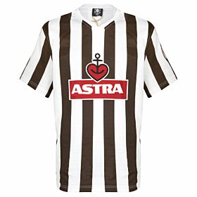 St Pauli Traditional Astra Retro Shirt - Brown/White