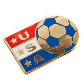 USA Enamel Pin Badge
